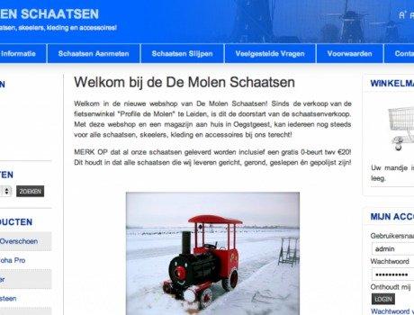 De Molen Schaatsen – Webshop