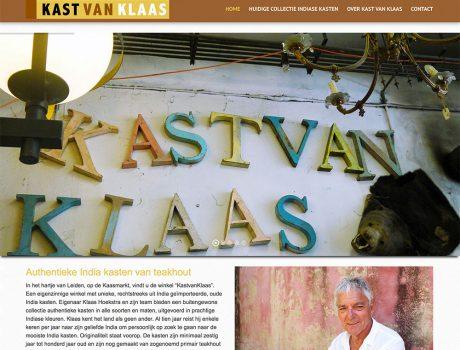 Webshop – Kast van Klaas