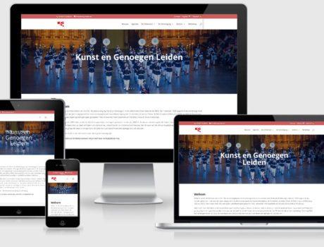 Website voor vereniging – K&G Leiden