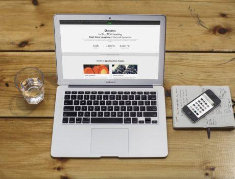 Website voor startup – DENSsolutions